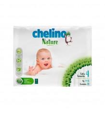 Chelino Nature Taille 4, 9-15 kg 34 Unités