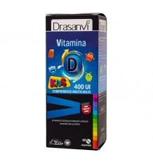 Drasanvi Vitamina D3 400UI + K1 Kids 60 Comprimidos Masticables