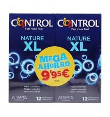Control Kondome Natur XL 12+12 Duplo Promotion