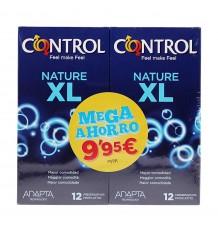 Control Preservativos Nature XL 12+12 Duplo Promocion