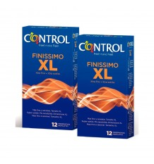 Control Preservativos Finissimo XL 12+12 Duplo Promocion