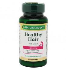 La Générosité de la Nature des Cheveux Sains Cheveux 60 Gélules