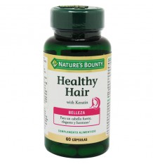 Nature's Bounty Healthy Hair Queratina 60 Cápsulas