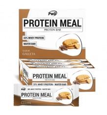 Protein Meal Barras Biscoito Maria 12 Peças Pwd Nutrition
