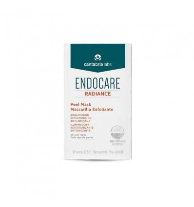 Endocare Radiance Máscara Esfoliante Vitamina C 5 envelopes 6ml