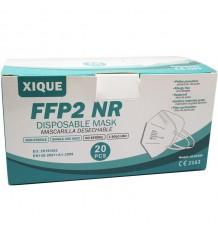 Máscara Ffp2 Nr Xique Branca Caixa Com 20 Unidades