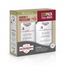 Eucerin Ph5 Bad Gel 1000 ml + 750 ml