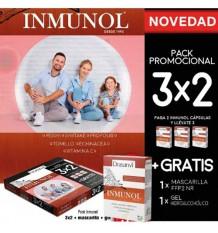 Drasanvi Inmunol 36 + 36 + 36 + Mascarilla + Gel 100ml