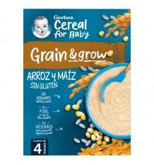 Gerber Papilla Arroz Maiz Sin Gluten 250g