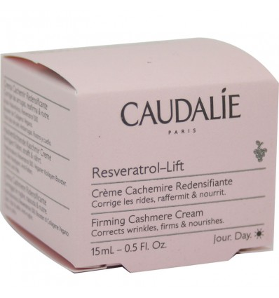 Caudalie Resveratrol Lift Creme Cachemire Rejuvenescedor 15 ml Tamanho Mini