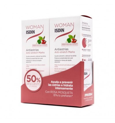 Woman Isdin Antiestrias 250ml + 250ml Duplo Promocion