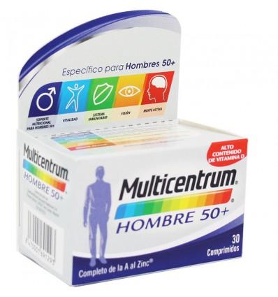 Multicentrum Homme 50+ 30 Comprimés