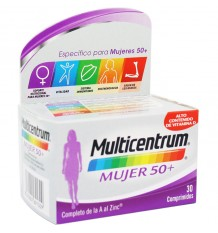 Multicentrum Women 50+ 30 Tablets