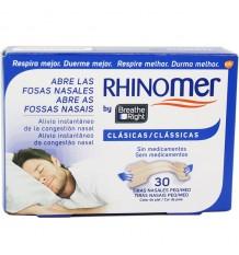 Rhinomer Tiras Nasales Clasicas Pequeñas Medianas 30 Unidades