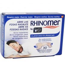 Rhinomer Tiras Nasales Clasicas Grandes 30 Unidades