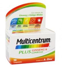 Multicentrum Plus Le Ginseng, Le Ginkgo 30 Compimidos