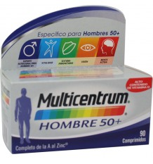 Multicentrum Homme 50+ 90 Comprimés