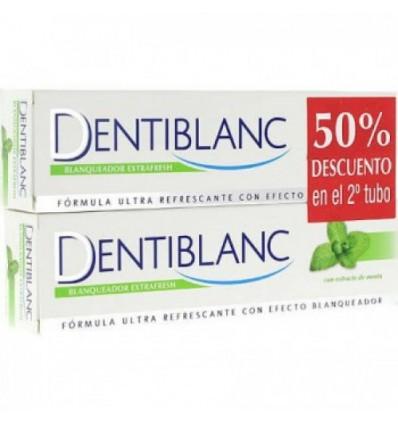 Dentiblanc Blanqueador Extrafresh Menta 100ml + 100ml Duplo