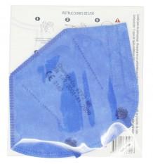 Máscara FFP2 NR Promask 1 Unidade Azul Escuro 5 Unidades