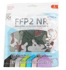 Masque FFP2 NR Promask de Camouflage Militaire 1 Unité