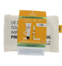 Heliocare 360 Gel Oil Free 50ml + Endocare Radiance Oil free 10 Ampoules + Bag