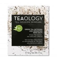 Teaology Grünen Tee Werden Entschlackt Und Strafft Bad Mit Salz 50 Gramm