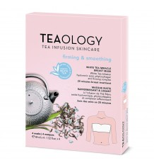 Teaology White Tea Miracle Breast Mask Firming Smooting 60 ml Pack 4 Unidades