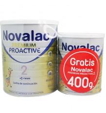 Novalac 2 Premium Proactive 800 Étain de Cadeau de 400 g