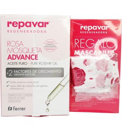 Repavar Regenerierende Öl Advance 15 ml + Maske