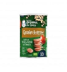 Gerber NutriPuffs Snack Bio de Cereales y Tomate 35g