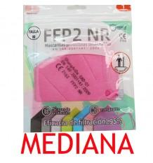 Masque FFP2 NR Promask Rose 1 pièce de Taille Moyenne