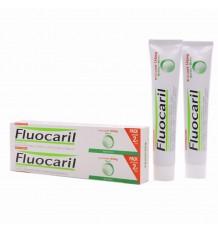 Fluocaril Dentifrice à la Menthe 75ml + 75ml Pack Duplo