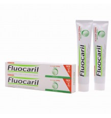 Fluocaril Mint Toothpaste 75ml + 75ml Pack Duplo
