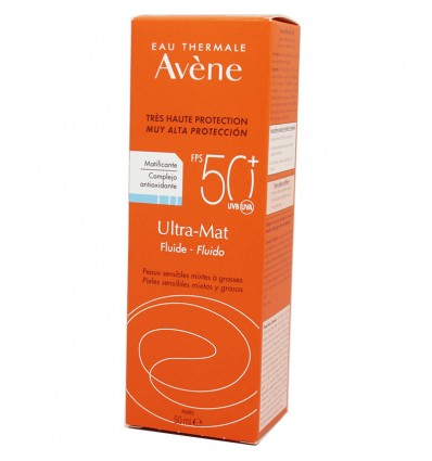 Avene Solar SPF50 Ultra Mat Cream 50ml