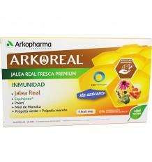 Arkoreal Geléia Real Imunidade Sem Açúcar 20 Ampolas