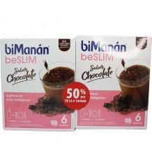 Bimanan Beslim Batido Chocolate 6 + 6 Duplo Promocion
