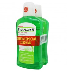 Fluocaril Bi-Fluore Anticaries Mundwasser 500ml + 500ml