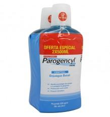 Parogencyl Gencives bain de bouche Contrôle de 500 ml + 500 ml