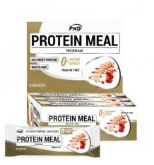 Protéines Barres Repas Banoffee 12 Unités Pwd Nutrition