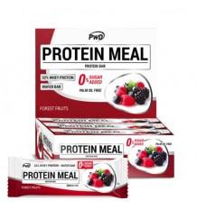 Protéines Barres Repas, Fruits De La Forêt 12 Unités Pwd Nutrition