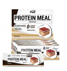 Protein Meal Barras Tiramisu 12 Unidades Pwd Nutrition