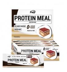 Protein Meal Barritas Tiramisu 12 Unidades Pwd Nutrition