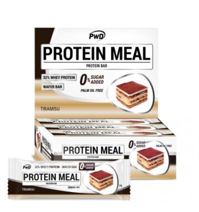 Protéines Barres Repas De Tiramisu 12 Unités Pwd Nutrition