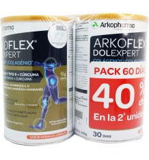 Arkoflex Dolexpert colagénio Laranja 390g + 390g Duplo promoção