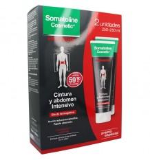 Somatoline Cosmetic Homme, de la Taille et de l'Abdomen Intensif 250 ml+250 ml