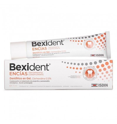 Bexident Encias Chlorhexidine Gel Dentifrico 75 ml