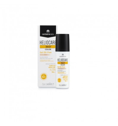 Heliocare 360 Cor Gel Oil free Bege 50 ml