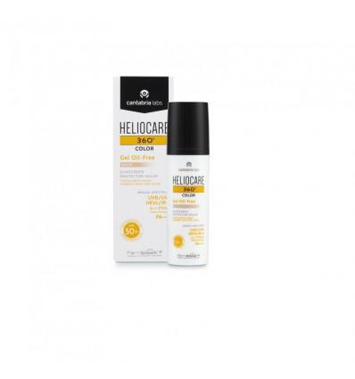 Heliocare 360 Gel de Couleur Oil free Beige 50 ml