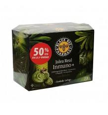Black Bee Immuno+ Royal Jelly 20 Ampullen+20 Vials Duplo Promotion