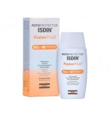 De la crème solaire Isdin 50 de Fusion Liquide 50 ml
